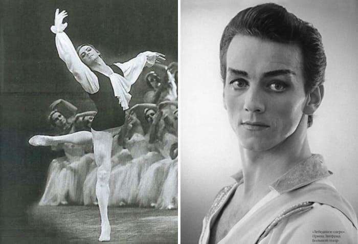 Звезда советского балета Марис Лиепа | Фото: kino-teatr.ru и oneoflady.com