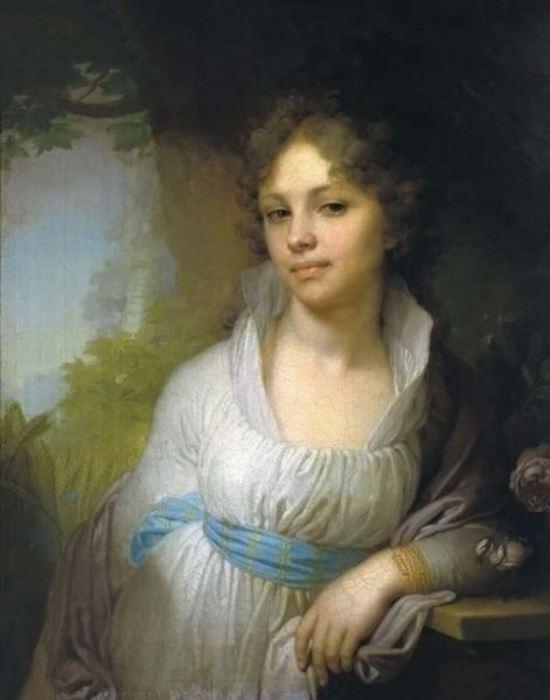 В. Боровиковский. Портрет М. И. Лопухиной, 1797 г.