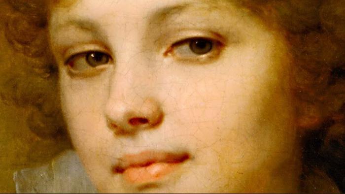 В. Боровиковский. Портрет М. И. Лопухиной. Фрагмент