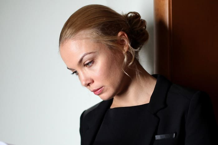 Татьяна Арнтгольц в сериале *Наживка для ангела*, 2017   Фото: kino-teatr.ru