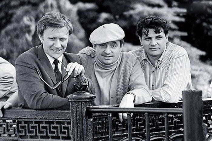 Андрей Миронов, Марк Захаров и Александр Ширвиндт | Фото: 24smi.org