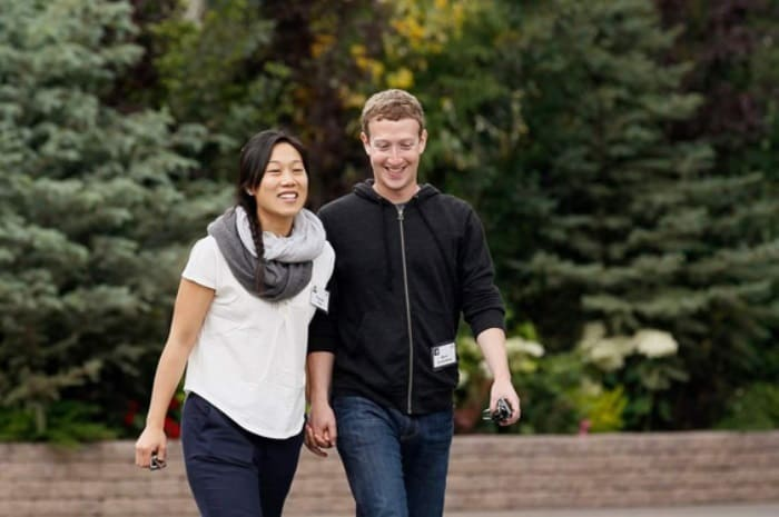 Марк Цукерберг и его жена, Присцилла Чан | Фото: fancy-journal.com