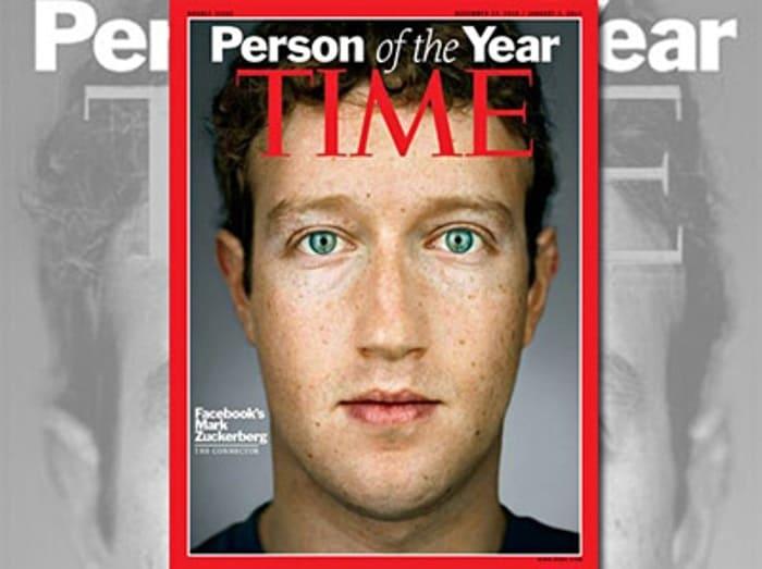 В 2010 г. Марк Цукерберг стал человеком года | Фото: besage.ru