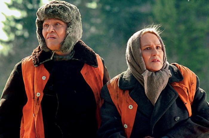 Римма Маркова и Нонна Мордюкова в социальном рекламном ролике *Дай вам Бог здоровья!* | Фото: 7days.ru