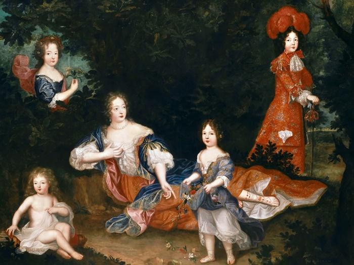 Мадам де Монтеспан с детьми, 1678   Фото: my.mail.ru