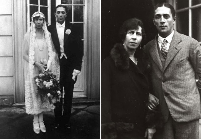 Принцесса Виктория цу Шаумбург-Липпе с мужем, Александром Зубковым, 1927 | Фото: chron.com и grif.ua