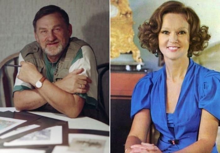 Людмила Гурченко и Борис Диодоров | Фото: tele.ru и kino-teatr.ru