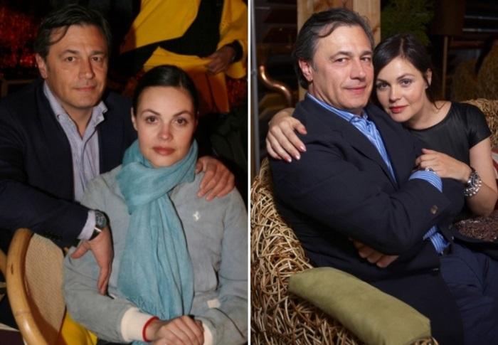 Ведущая программы *Время* с мужем | Фото: anews.com и woman.ru