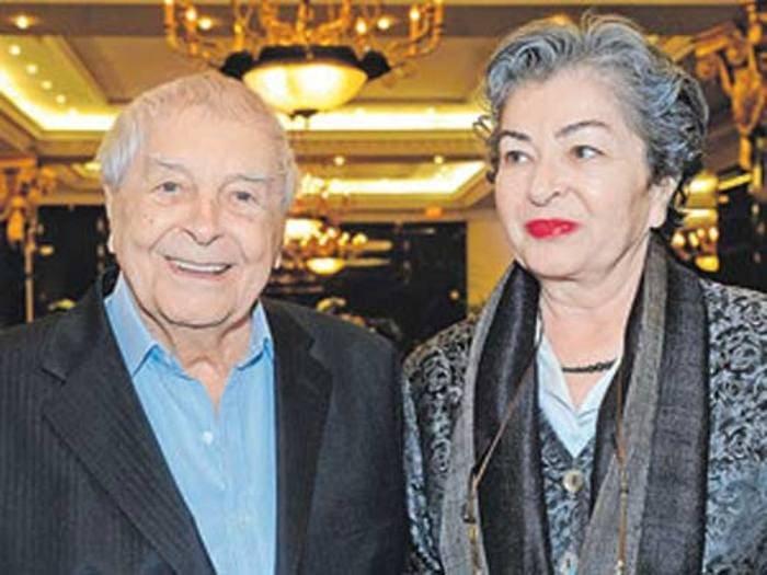 Юрий Любимов и Каталин Кунц | Фото: stuki-druki.com