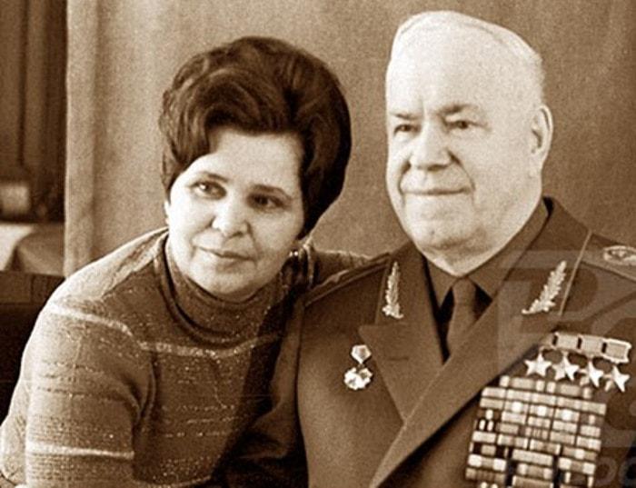 Георгий Жуков и Галина Семенова | Фото: liveinternet.ru