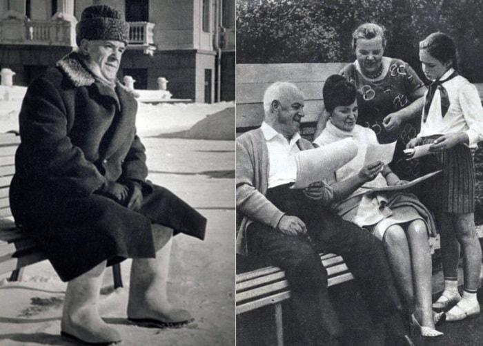 Георгий Жуков с женой Галиной и дочерью Марией | Фото: newsland.com и repead.ru