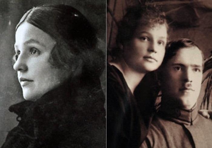 Георгий Жуков и его жена Александра Зуйкова | Фото: liveinternet.ru