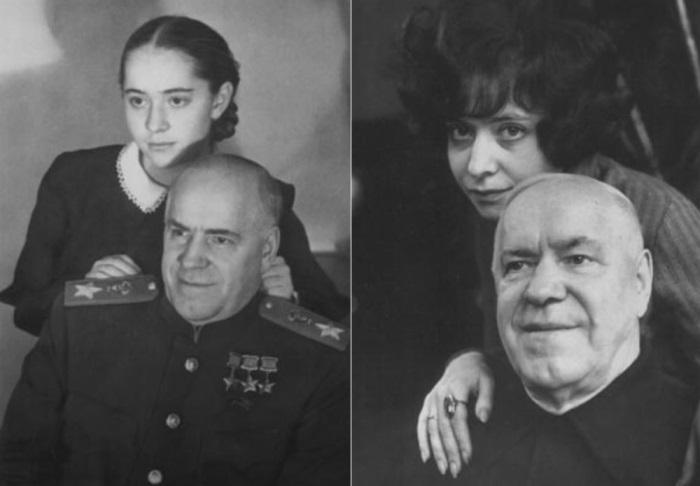 Маршал Жуков с дочерьми Эрой и Эллой | Фото: liveinternet.ru