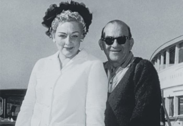 Мэри и ее третий муж, Мэл Эш   Фото: karavan.ua