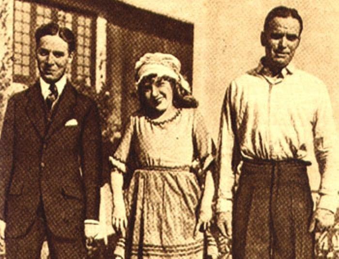 Чарли Чаплин, Мэри Пикфорд и Дуглас Фэрбенкс | Фото: pickfordmary.ru