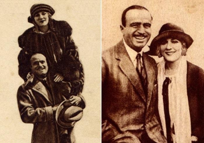 Мэри Пикфорд и ее муж Дуглас Фэрбенкс | Фото: pickfordmary.ru
