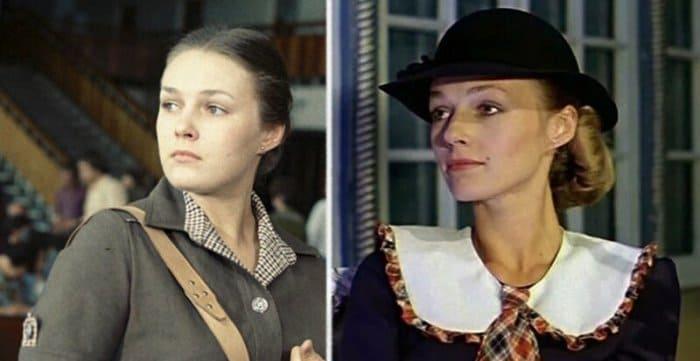 Наталья Андрейченко в конце 1970-х гг. и в роли Мэри Поппинс | Фото: domkino.tv