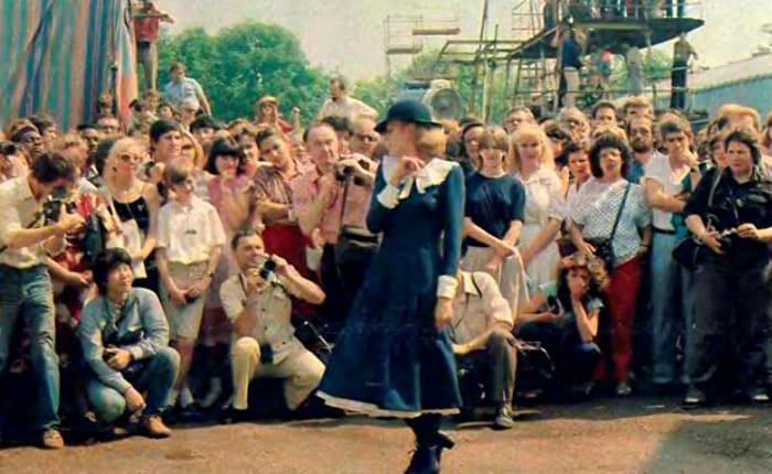 Актриса на съемках фильма | Фото: dubikvit.livejournal.com