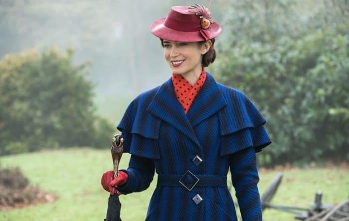 Эмили Блант в роли Мэри Поппинс | Фото: tv.ua