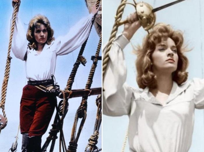 Лиза Гастони в роли Мэри Рид, 1961 | Фото: cinema.de и woman-space.ru