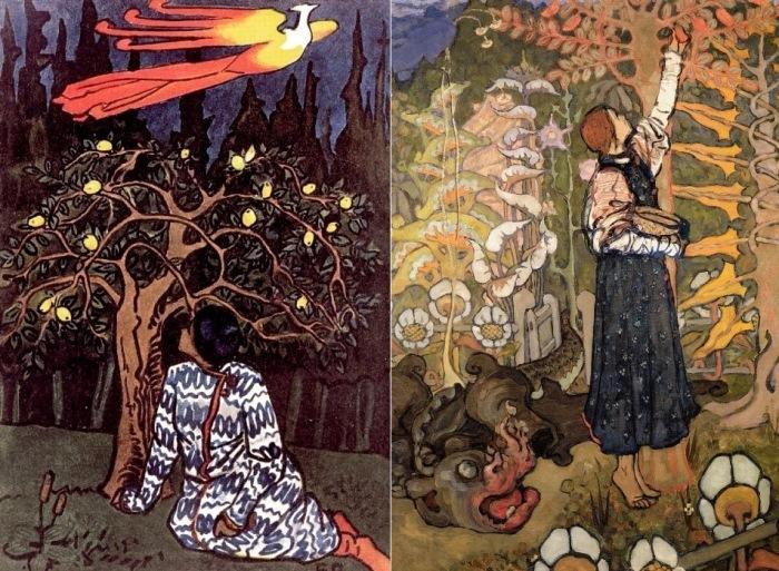 Работы Е. Поленовой, 1895-1990