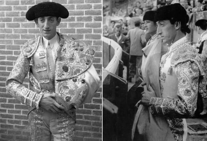 Тореадор, который стал национальным героем Испании, в жизни и на экране | Фото: savepic.org и lotspics.ru