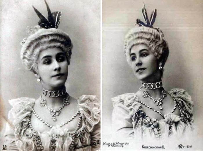 Фотопортреты Кшесинской по мотивам балета *Комарго*, 1902 | Фото: romanovs-russia.blogspot.ru