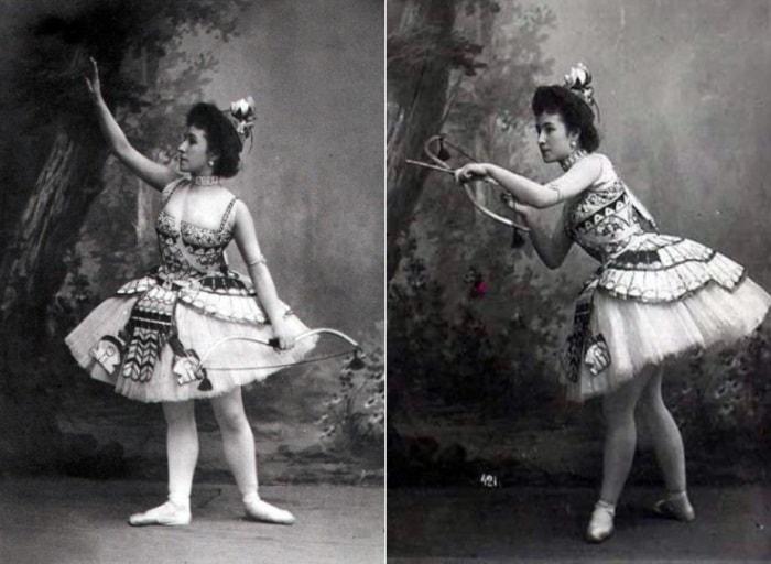 Матильда Кшесинская в балете *Дочь фараона*, 1900 | Фото: romanovs-russia.blogspot.ru