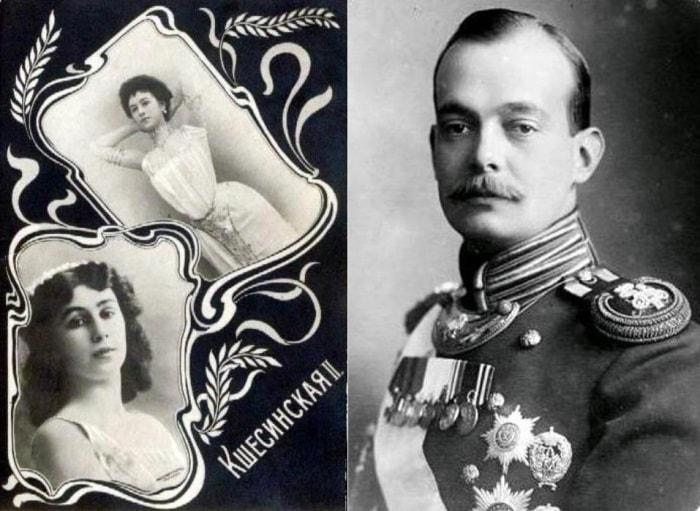 Великий князь Андрей Владимирович и его жена Матильда Кшесинская| Фото: romanovs-russia.blogspot.ru