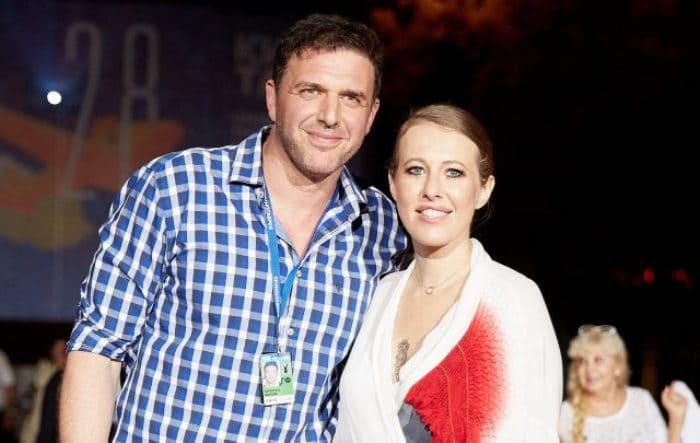 Максим Виторган и Ксения Собчак   Фото: peopletalk.ru