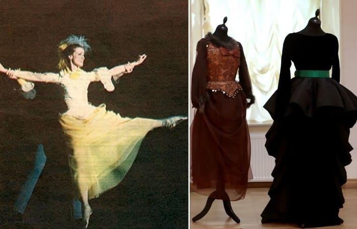 Наряды от Pierre Cardin для балетных постановок Майи Плисецкой | Фото: fashiony.ru и rg.ru