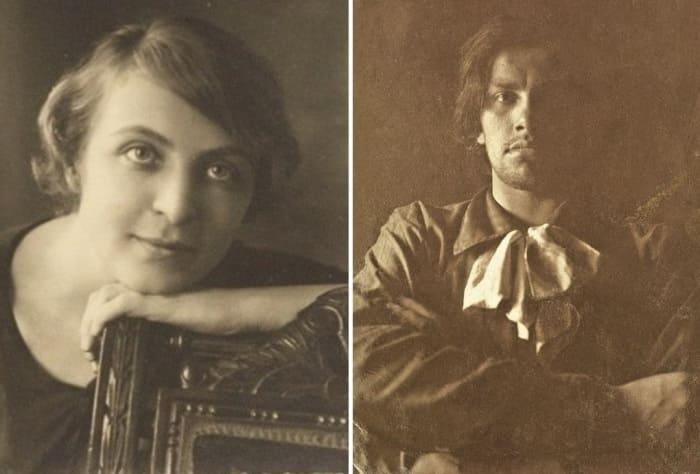 Поэт и его муза | Фото: culture.ru и togdazine.ru