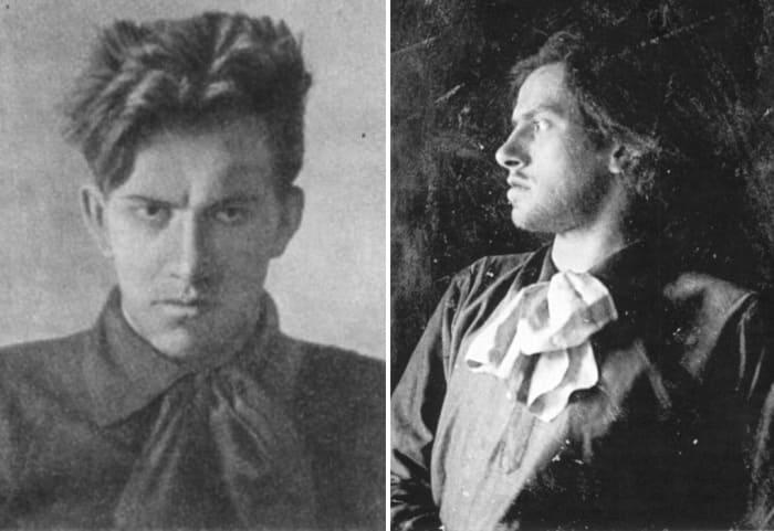 Поэт в 1912 г. | Фото: hrono.ru и oralhistory.ru