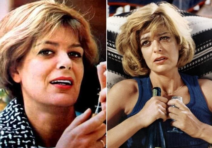 Греческая актриса, которую знают во всем мире | Фото: kpitalrisk.free.fr и theredlist.com