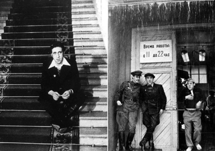Кадры со съемок фильма *Место встречи изменить нельзя*, 1979   Фото: pravda-tv.ru