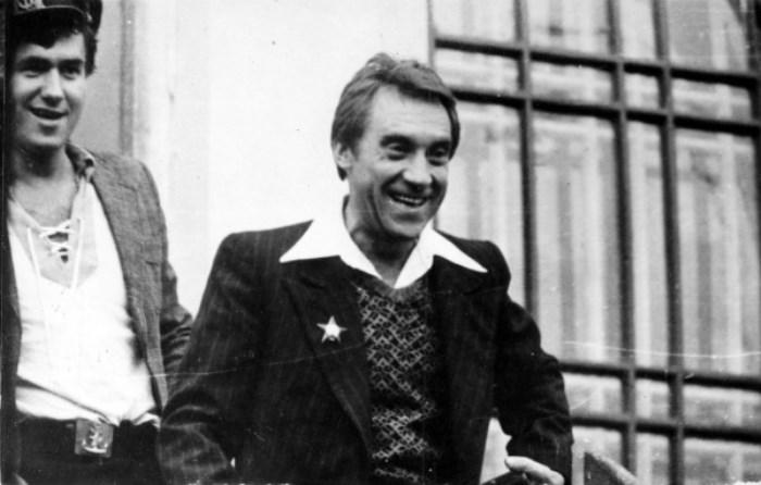 Кадр со съемок фильма *Место встречи изменить нельзя*, 1979   Фото: pravda-tv.ru