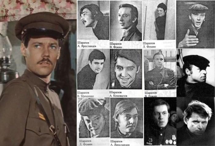 Владимир Конкин и актеры, претендовавшие на роль Шарапова   Фото: pravda-tv.ru