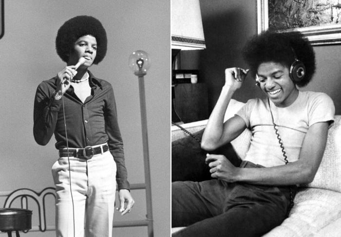 Майкл Джексон в 16 и в 18 лет | Фото: michaeljackson.ru