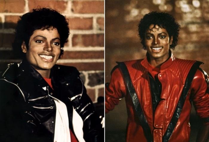 Майкл Джексон на съемках фильма *Триллер*, 1983 | Фото: michaeljackson.ru