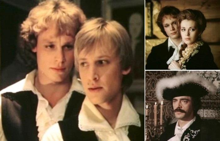 Кадры из фильма *Гардемарины, вперед!*, 1987   Фото: good-cinema.ru и kino-teatr.ru
