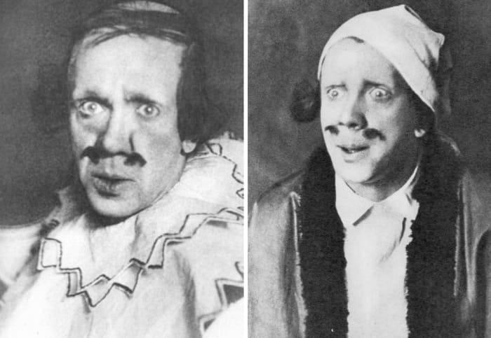 Сценические образы Михаила Чехова, 1920 | Фото: mihail-chehov.ru