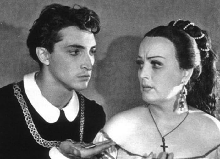 Михаил Козаков в роли Гамлета, 1956 | Фото: kino-teatr.ru