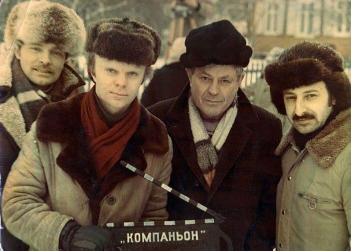 Михаил Метелкин на съемках своего фильма *Компаньон* | Фото: kino-teatr.ru