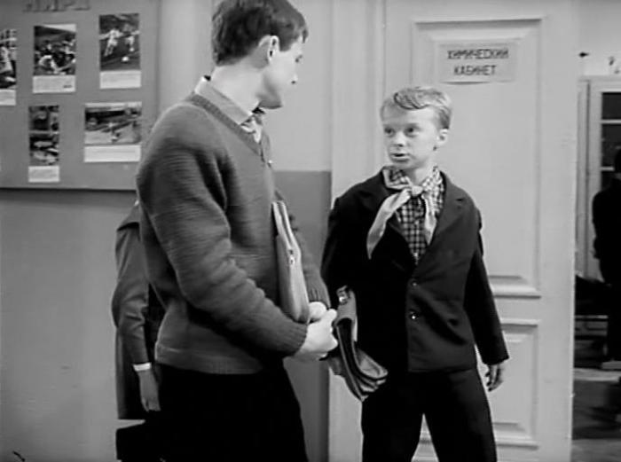 Миша Метелкин в фильме *Звонят, откройте дверь*, 1965 | Фото: kino-teatr.ru