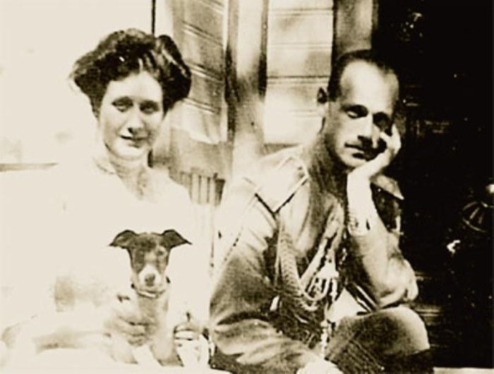 Великий князь Михаил Александрович и Наталья Сергеевна Брасова | Фото: radikal.ru