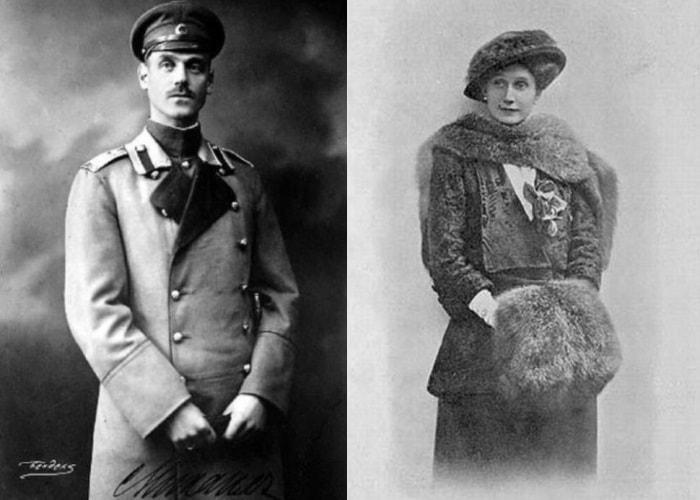 Великий князь Михаил Александрович и Наталья Сергеевна Брасова | Фото: radikal.ru и liveinternet.ru