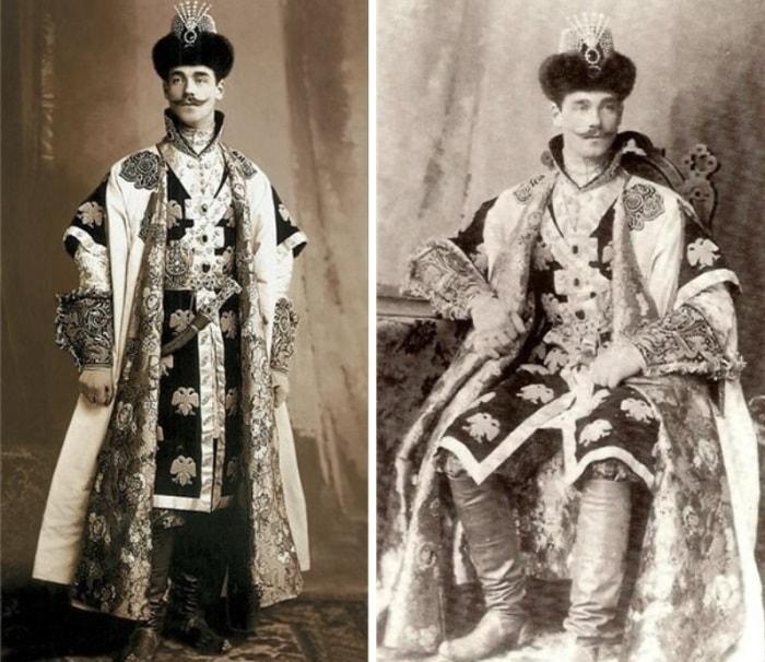Великий князь Михаил Александрович на  костюмированном балу в Зимнем Дворце, 1903 | Фото: liveinternet.ru