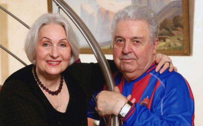 Михаил Танич со второй женой, Лидией Козловой | Фото: 24smi.org