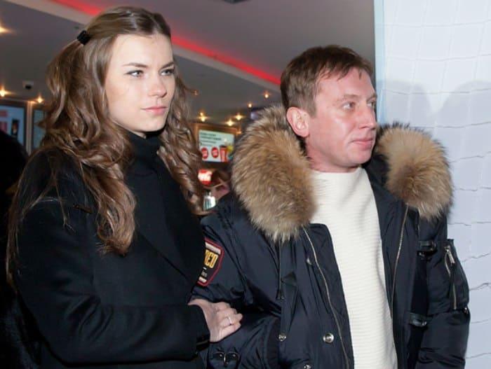 Актер со второй женой, Анной Нестерцовой, в 2011 г.   Фото: kino-teatr.ru