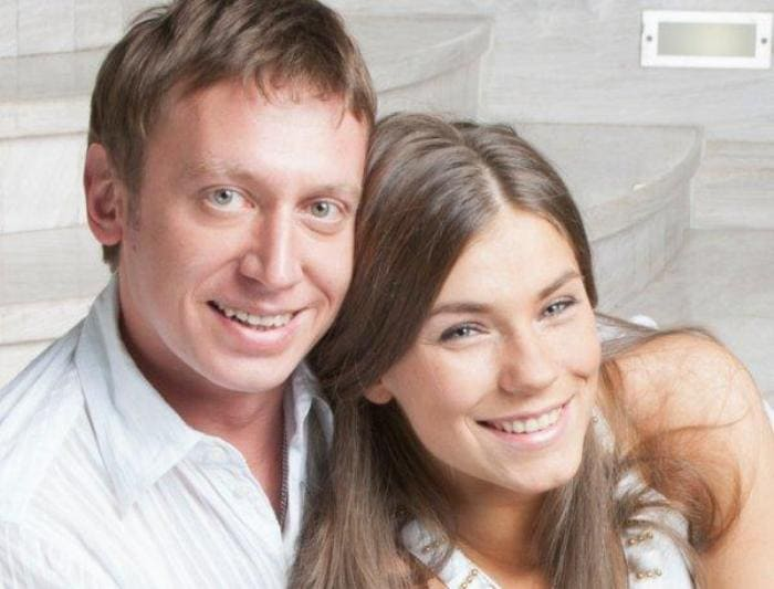 Актер со второй женой, Анной Нестерцовой   Фото: vokrug.tv